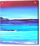 Indigo Island Acrylic Print
