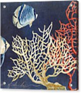 Indigo Ocean - Silence Of The Deep Acrylic Print