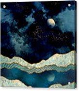 Indigo Sky Acrylic Print