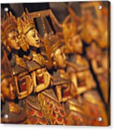 Indonesian Dolls Acrylic Print