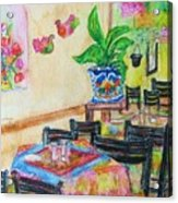 Indoor Cafe - Gifted Acrylic Print