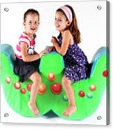 Indoor Playground Acrylic Print