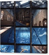 Indoor Pool Acrylic Print