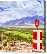Indus Valley Acrylic Print