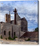 Industrial Cement Factory Acrylic Print