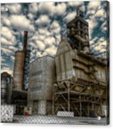 Industrial Disease Acrylic Print
