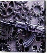Industrial Firearms  Acrylic Print