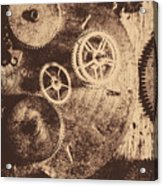 Industrial Gears Acrylic Print