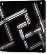 Industrial Geometric Design Acrylic Print