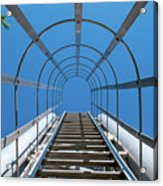 Industrial Ladder Acrylic Print