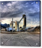 Industrial Landscape Study Number 1 Acrylic Print