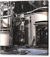 Industrial Manufacturing Acrylic Print