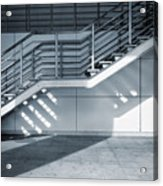 Industrial Stairway Acrylic Print