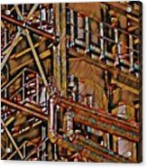 Industrial Storage And Distribution System Acrylic Print