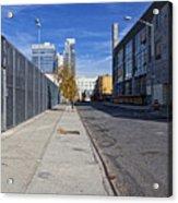 Industrial Street Acrylic Print