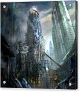 Industrialize Acrylic Print by Philip Straub