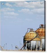 Industry Tank For Gas And Liquid Acrylic Print
