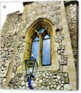 Infamous White Tower Of London Acrylic Print