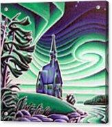 Church Of The Infant Jesus, Longlac, Ontario Acrylic Print