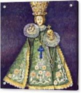 Infant Jesus Of Prague Acrylic Print