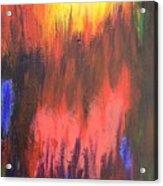Inferno I Acrylic Print