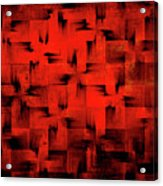 Inferno Acrylic Print by Silvia Ganora