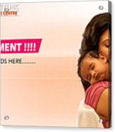 Infertility Treatment From Best Ivf Centre In India Acrylic Print