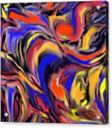 Infinit Complexity Four Acrylic Print