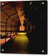 Infinite Bridge At Night Acrylic Print