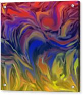 Infinite Complexity Six Acrylic Print
