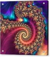 Infinite Rainbow Acrylic Print