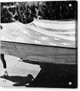 Inflatable Flag July 4th Parade 1 Tucson Arizona Acrylic Print