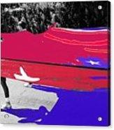 Inflatable Flag July 4th Parade 2 Tucson Arizona Acrylic Print