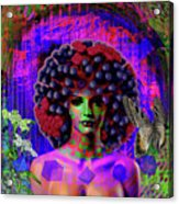 Influenza She Has Gone Viral Acrylic Print