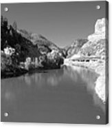Infrared Black And White Acrylic Print