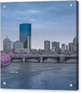 Infrared Boston Acrylic Print