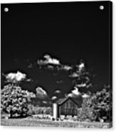 Infrared Farm Acrylic Print