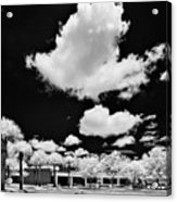 Infrared Indian River State College Hendry Campus #1 Acrylic Print