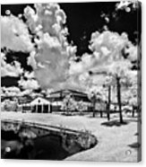 Infrared Indian River State College Hendry Campus #11 Acrylic Print