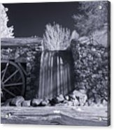 Infrared Mill 2 Acrylic Print