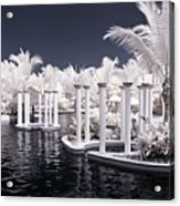 Infrared Pool Acrylic Print