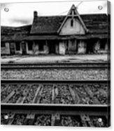Ingersoll Train Station    Acrylic Print