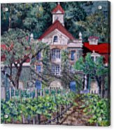 Inglenook Winery Napa Valley  Acrylic Print