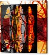 Ink Sisters 11.11 Acrylic Print