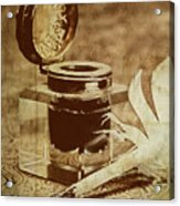 Inkwell V Acrylic Print