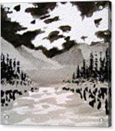 Inky Sky Acrylic Print