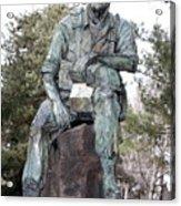 Inland Northwest Veterans Memorial Statue Acrylic Print