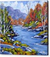 Inland Water Acrylic Print