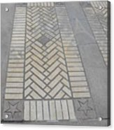 Inlayed Brick Walk Acrylic Print