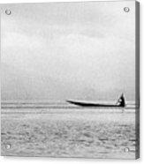 Inle Boat Acrylic Print